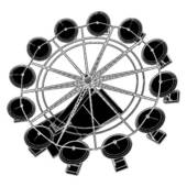 Clipart of Carousel With Compass k7214524.