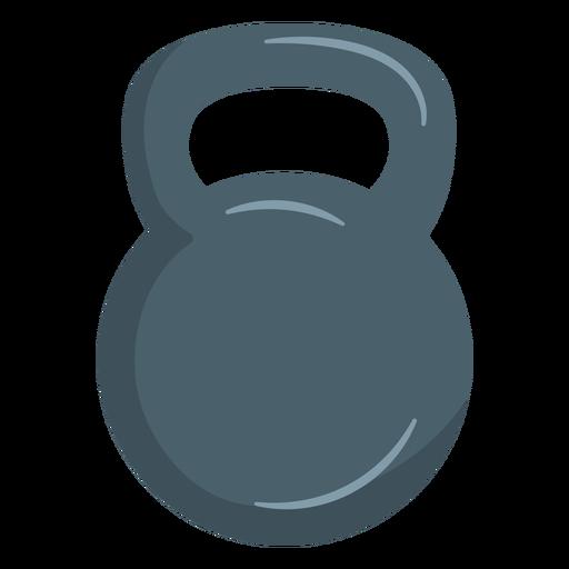 Kettlebell weight icon.