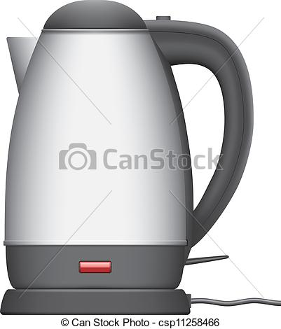 Electric kettle clipart.