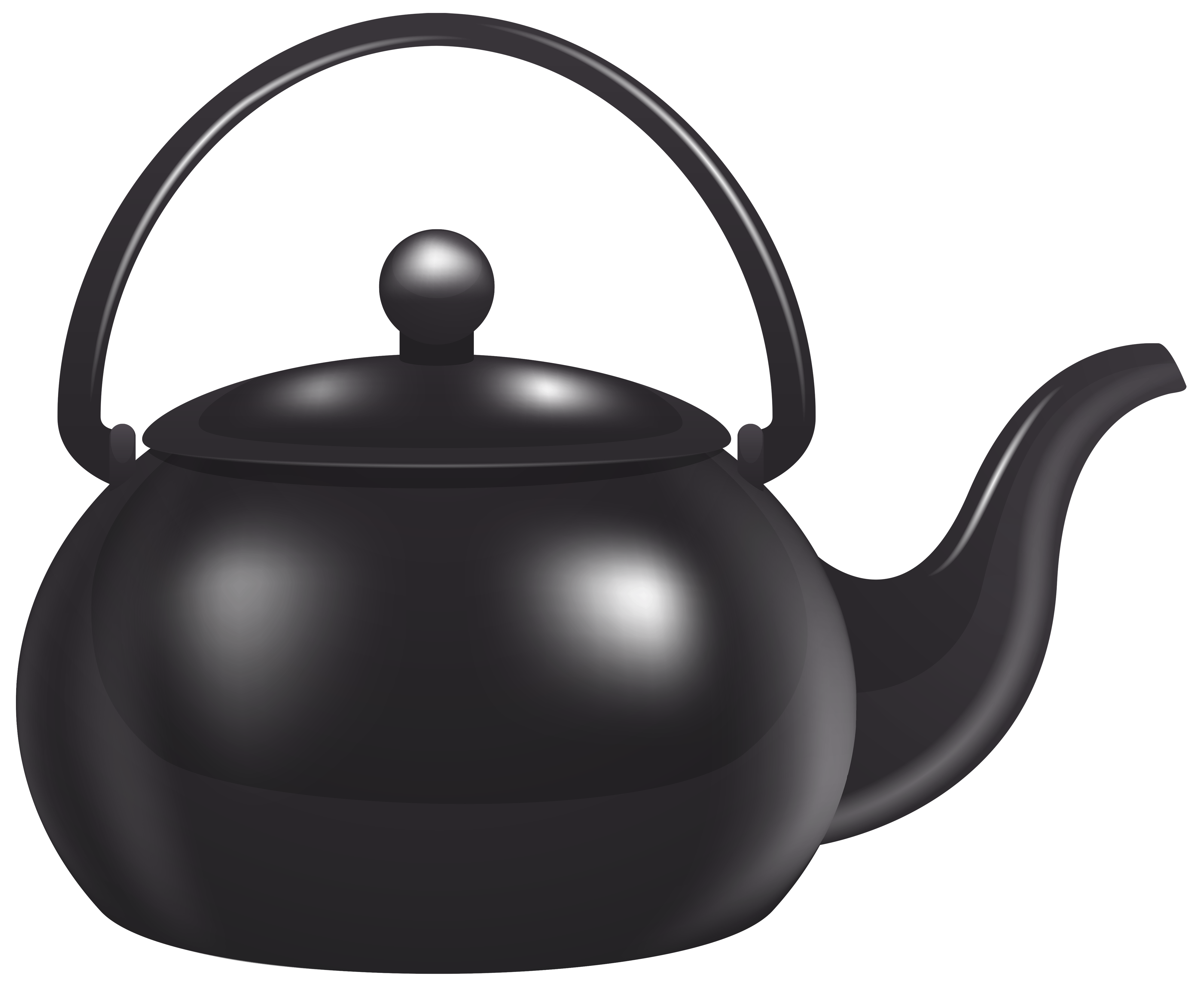 Black Kettle PNG Clipart.