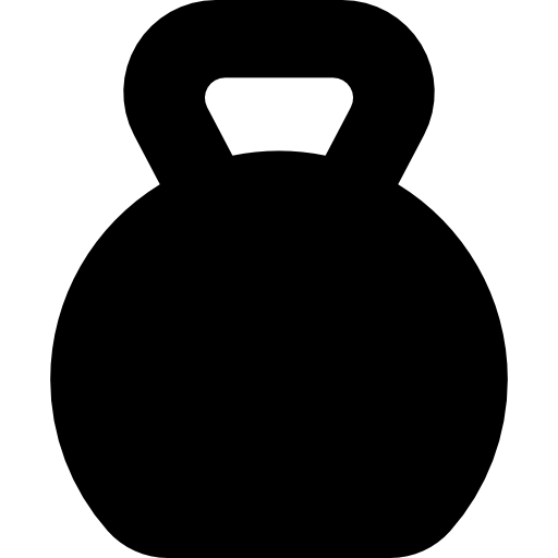 Kettlebell lifting Exercise Weight training Clip art.