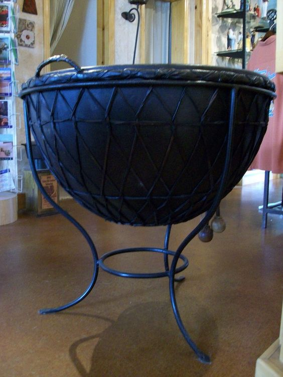Authentic African Kettle Drum.