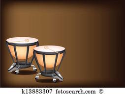 Kettledrums Clipart and Illustration. 28 kettledrums clip art.