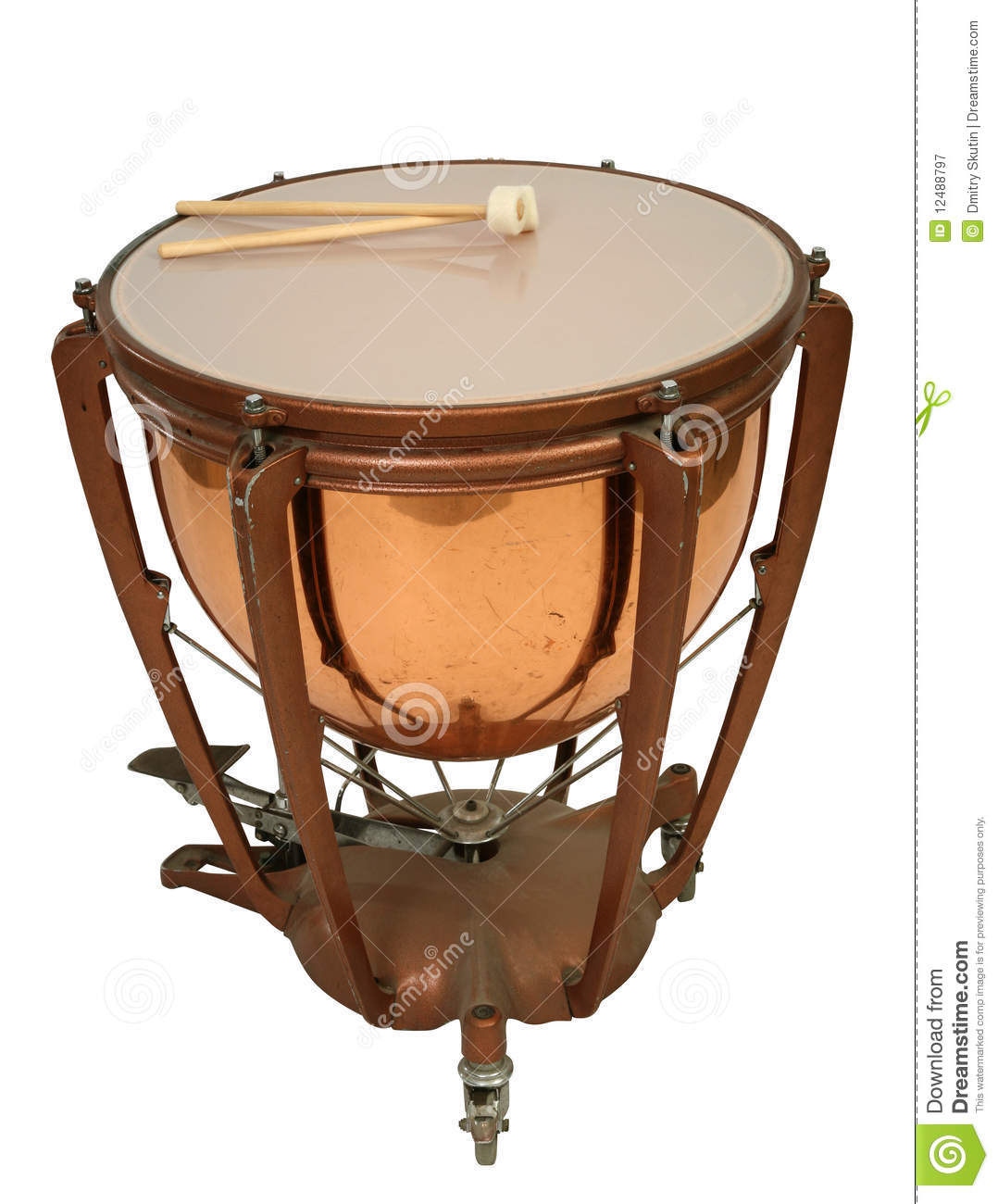 Kettle drum clipart.