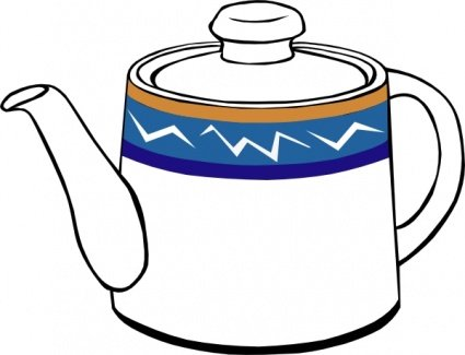 Kettle Clip Art, Vector Kettle.