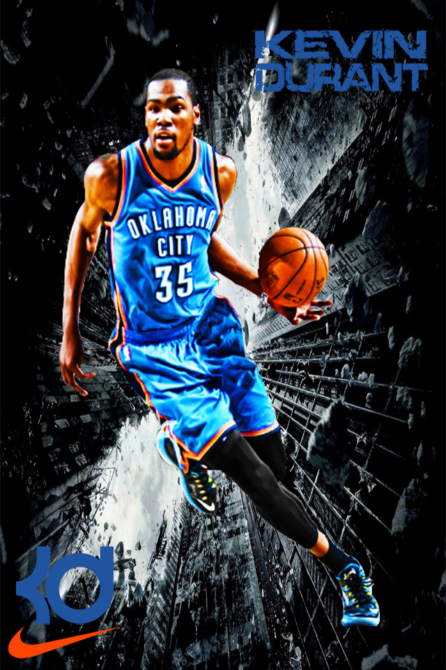 Kevin durant clipart for iphone.