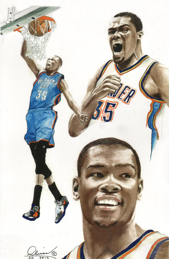Kevin durant clipart download.