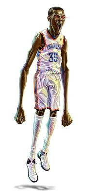 Kevin durant clipart.