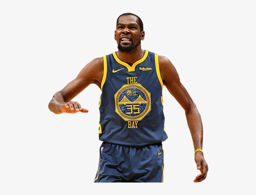Kevin Durant In The 2018 Golden State Warriors City.