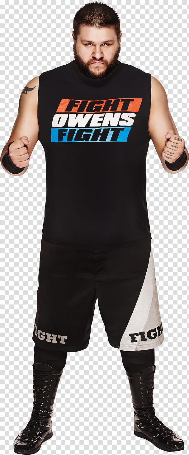 WWE Kevin Owens Render transparent background PNG clipart.