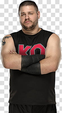 WWE Kevin Owens transparent background PNG clipart.