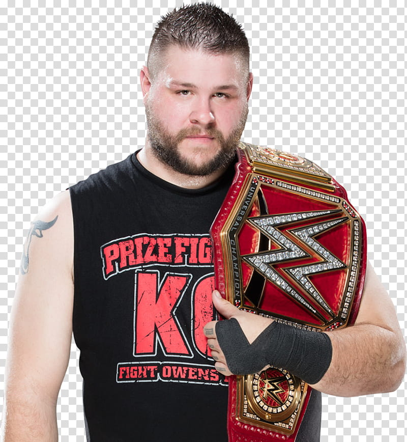Kevin Owens Universal Champion transparent background PNG.
