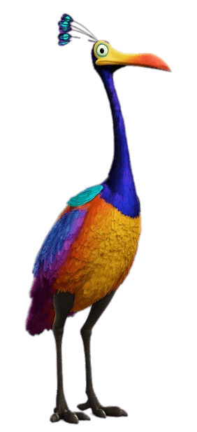 Kevin the Bird transparent PNG.