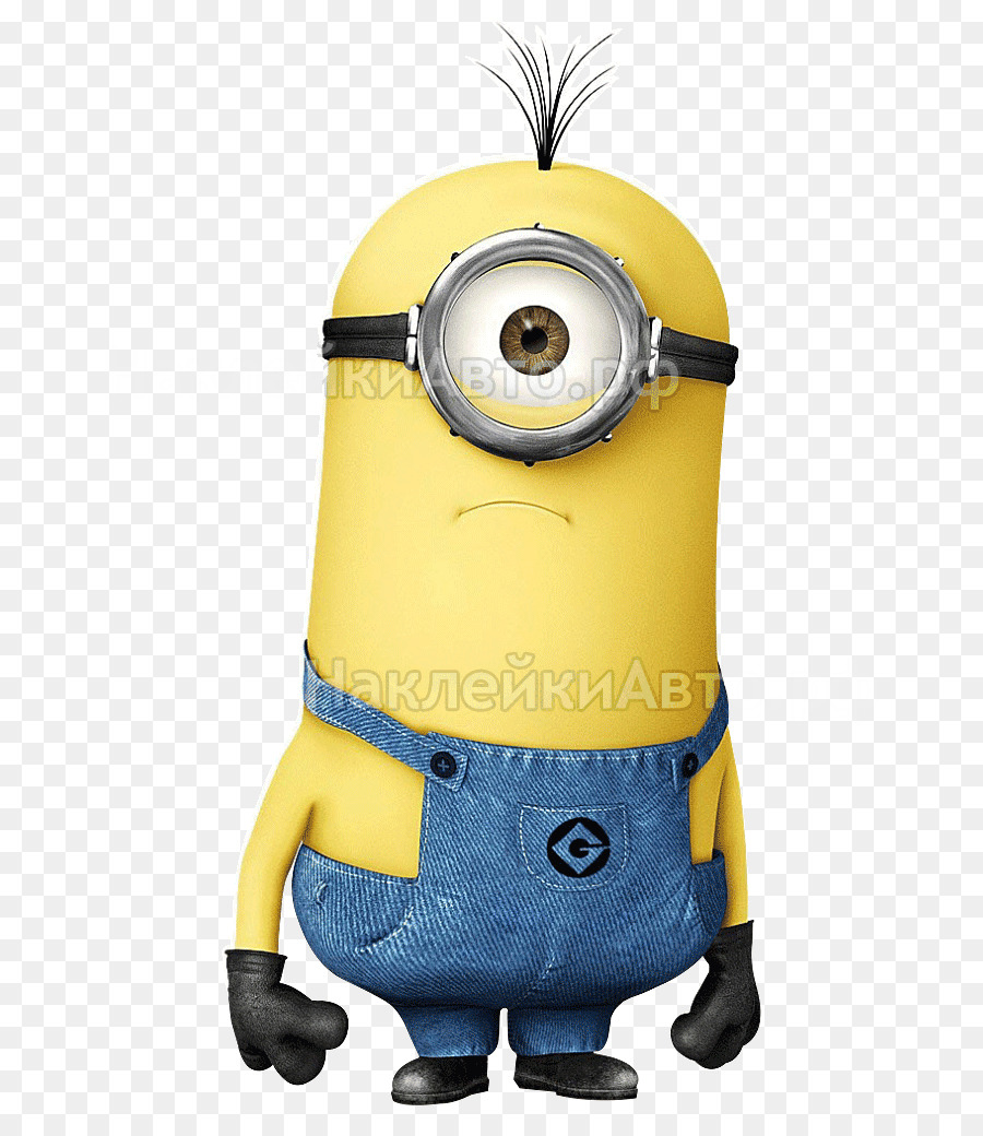 Kevin The Minion Yellow png download.