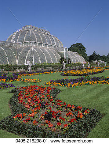 Stock Photography of England, Kew Gardens, Temperate House.