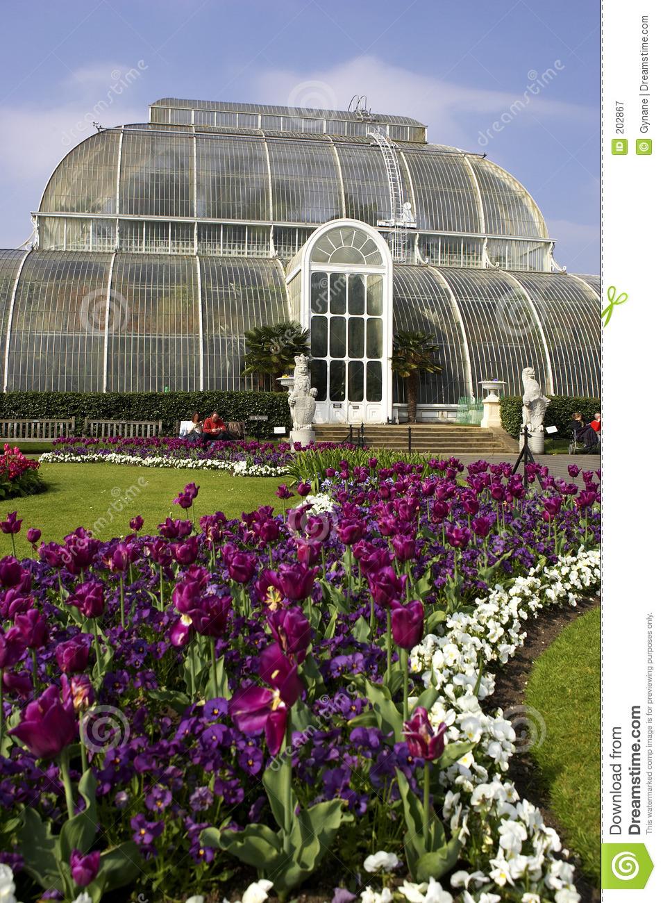 Palm House Kew Gardens London Uk Royalty Free Stock Photography.