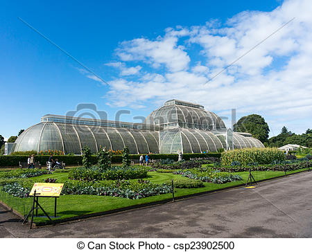 Stock Photography of Palm House at Kew Gardens csp23902500.