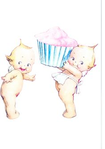 Cupie Doll Clipart.