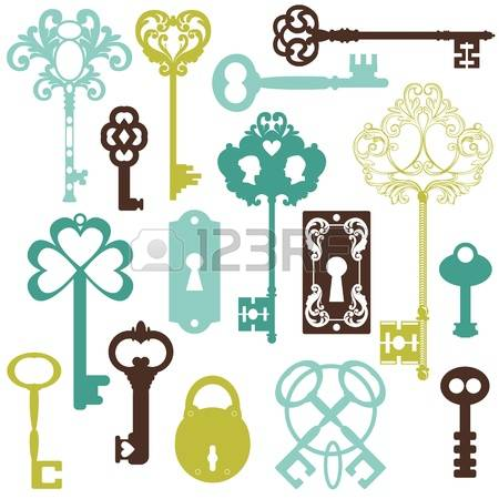 9,366 Old Key Stock Vector Illustration And Royalty Free Old Key.