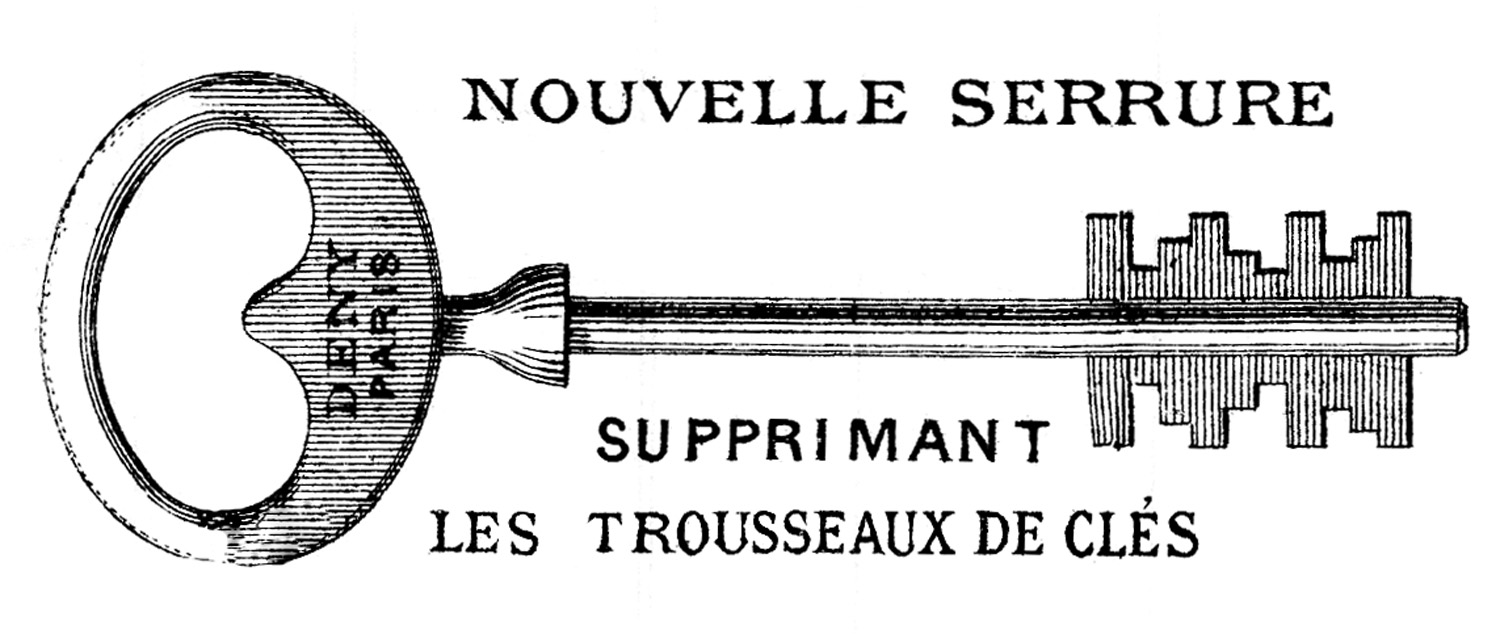 Vintage French Clip Art.