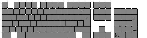 Keyboard Layout Clip Art at Clker.com.