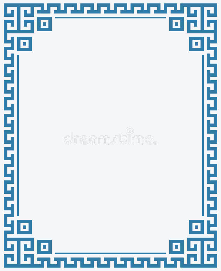 Greek Key Border Stock Illustrations.