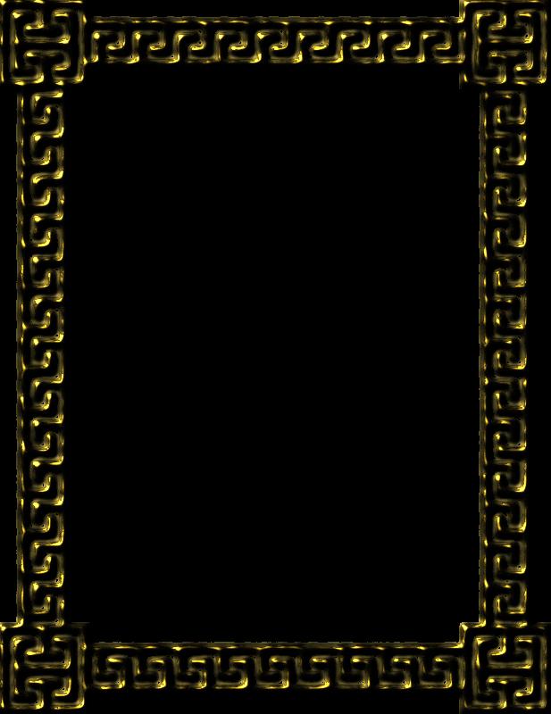 Greek Key Frame.