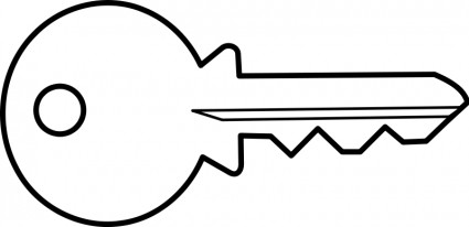 Free Key Clipart Black And White, Download Free Clip Art.
