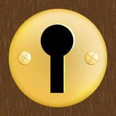 Door Keyhole Clip Art.