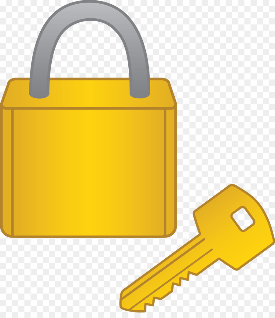 Lock With Key Clipart.