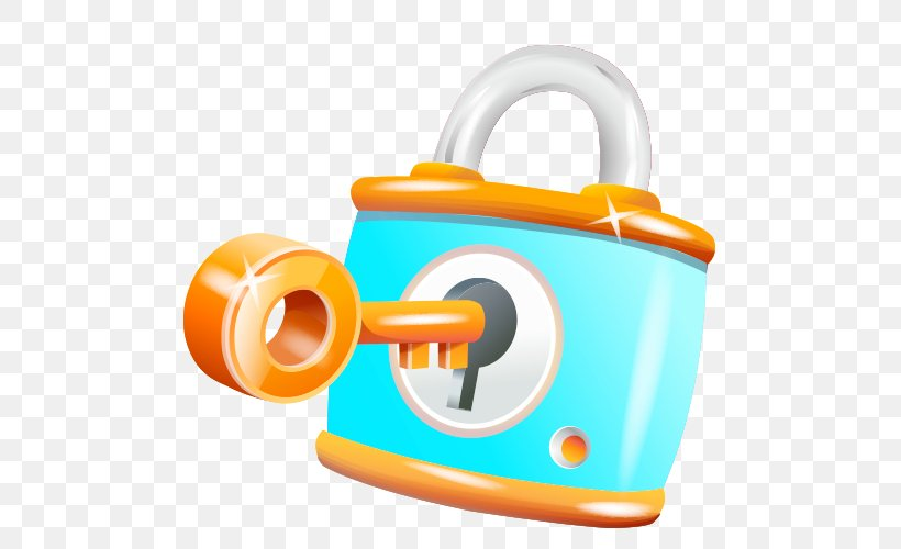 Lock Key Clip Art, PNG, 500x500px, Lock, Cartoon, Diagram.