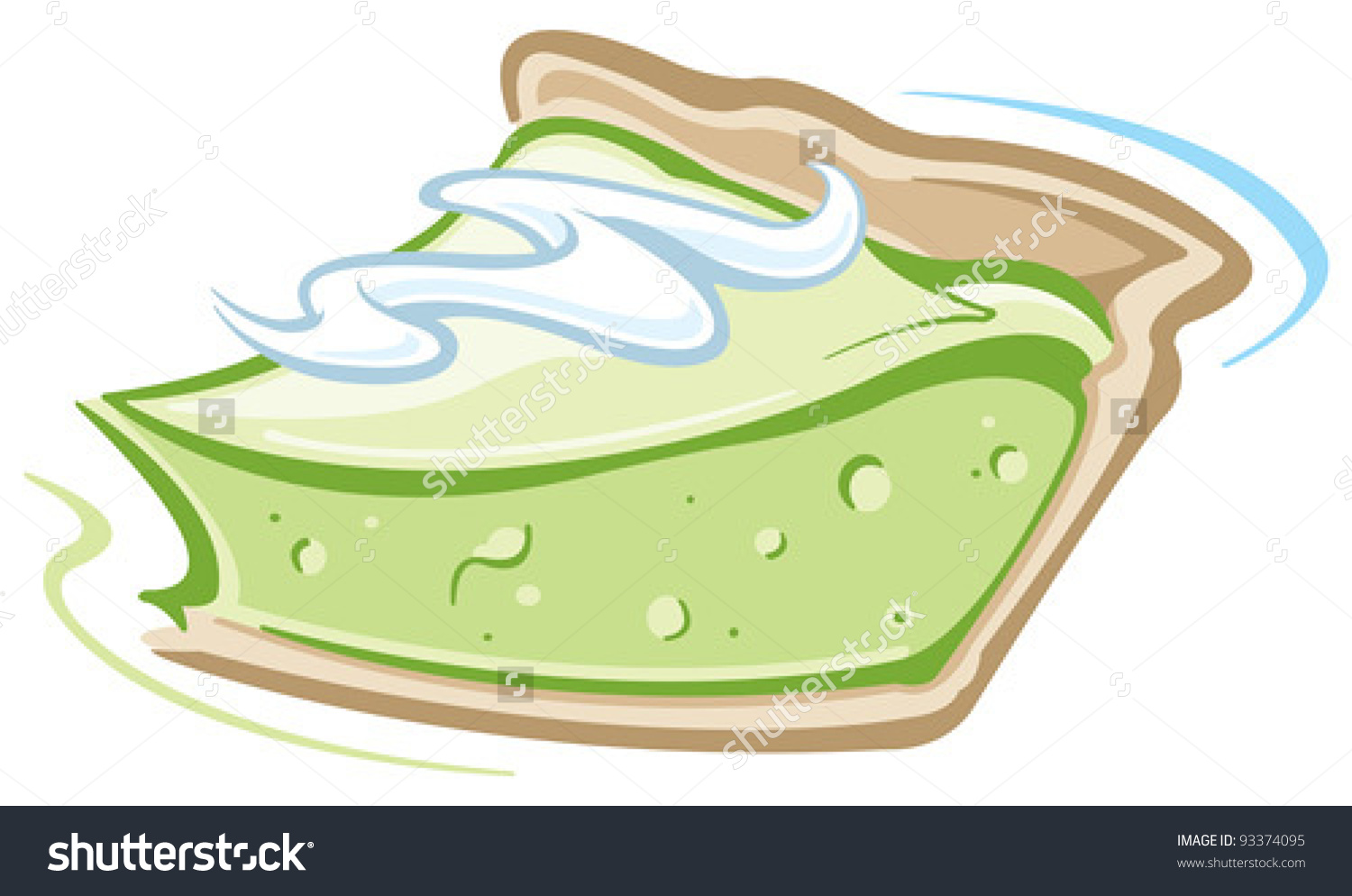 Key lime clipart #7