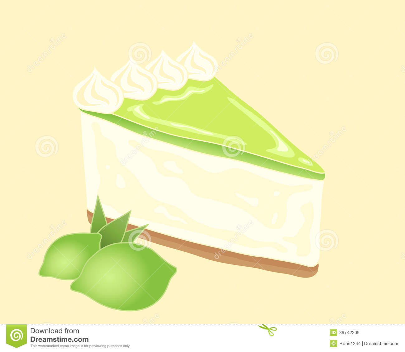 Key lime clipart #2