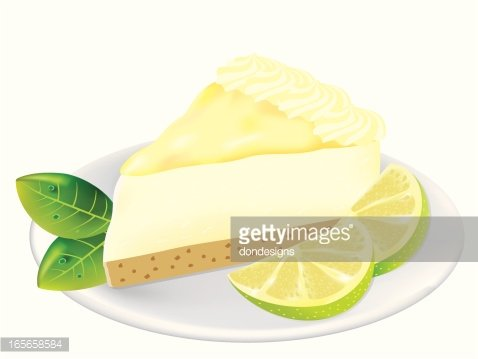 Key lime pie clipart 6 » Clipart Station.