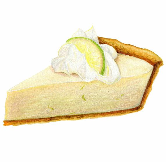 Key lime pie clipart 4 » Clipart Station.