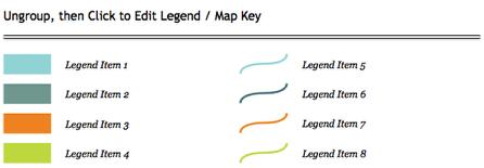 Add a Map Legend (Map Key).