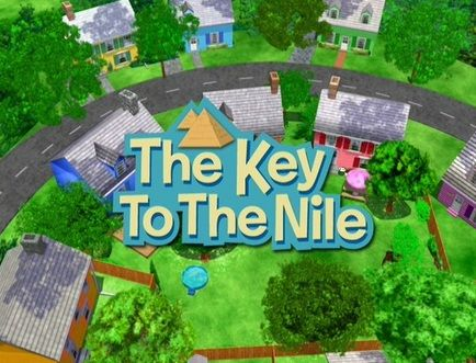 """The Backyardigans: """"The Key to the Nile"""" Review #BlueAnteater."""
