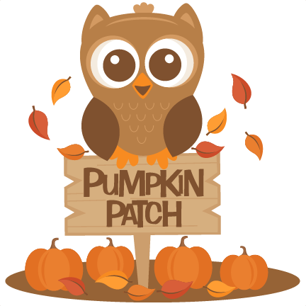 Pumpkin patch clip art.