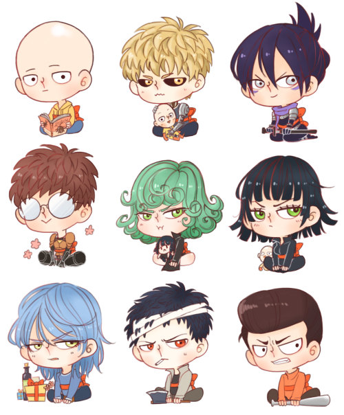 One punch man clipart.