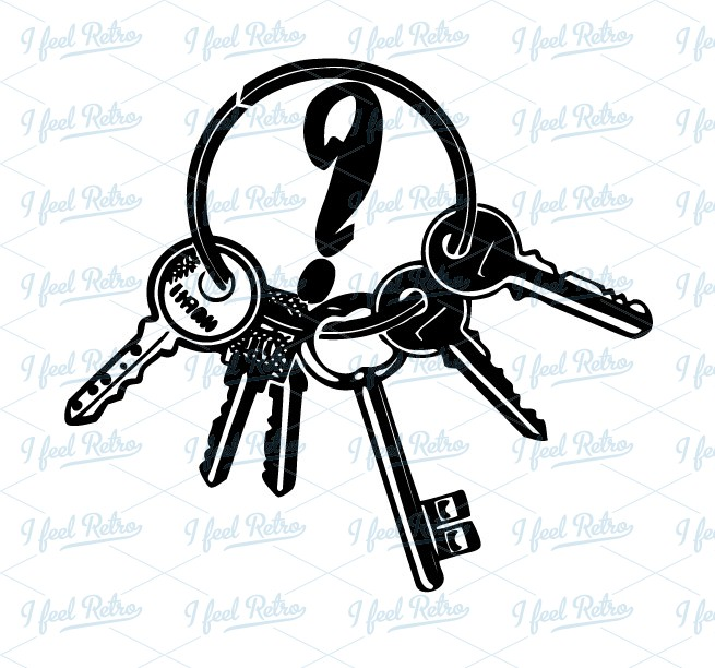 Key Ring Tags Clipart.