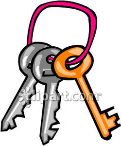 Lots of keys key ring clipart free.