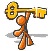 Cartoon Key Stock Illustrations.