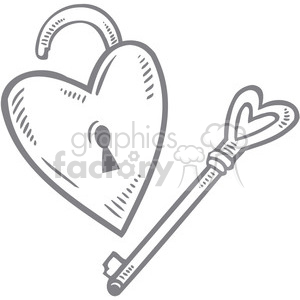 key to my heart clipart. Royalty.