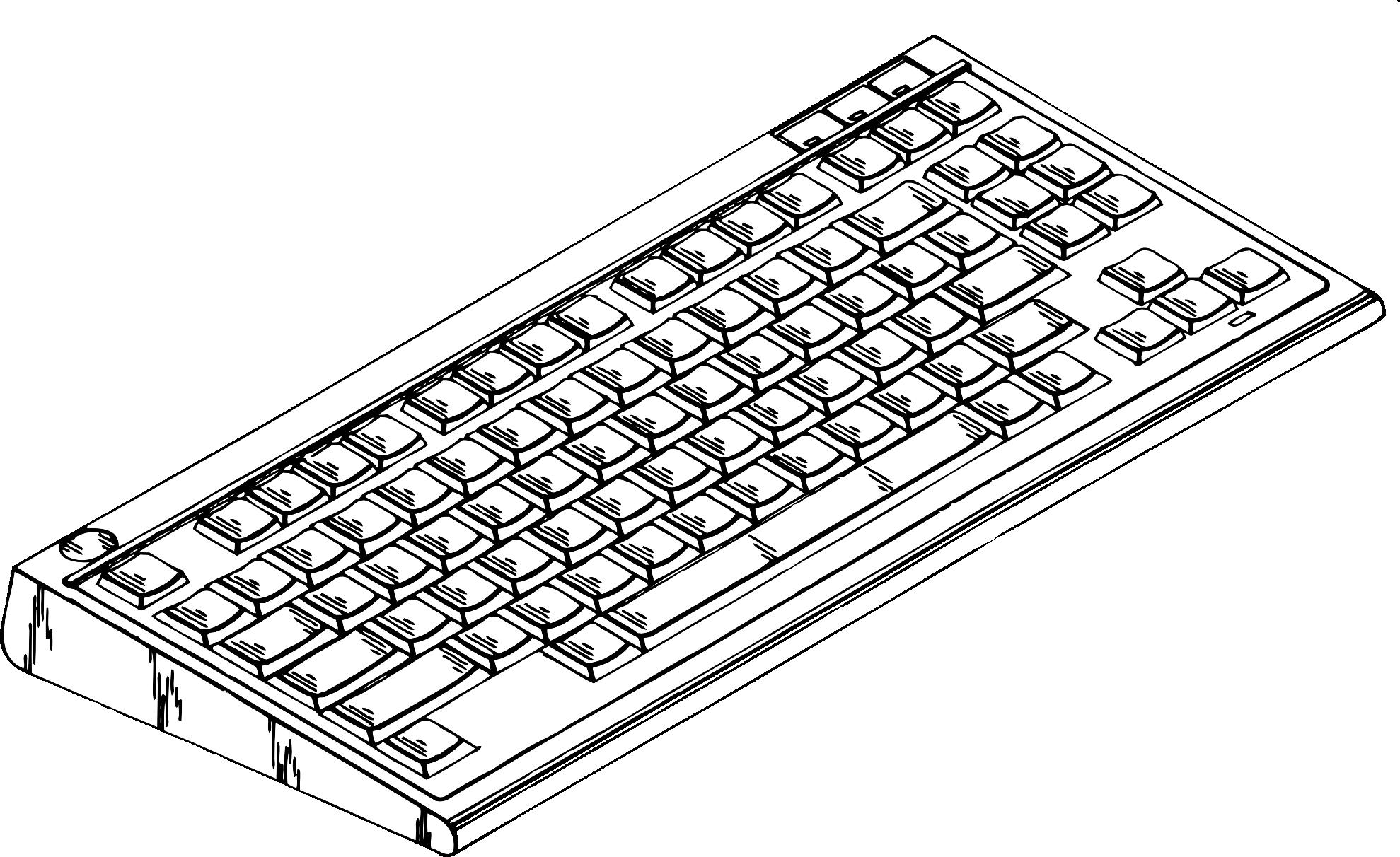 Computer keyboard clipart for kids transparent.