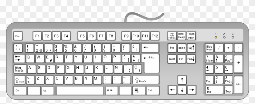 28 Collection Of Computer Keyboard Clipart Png.