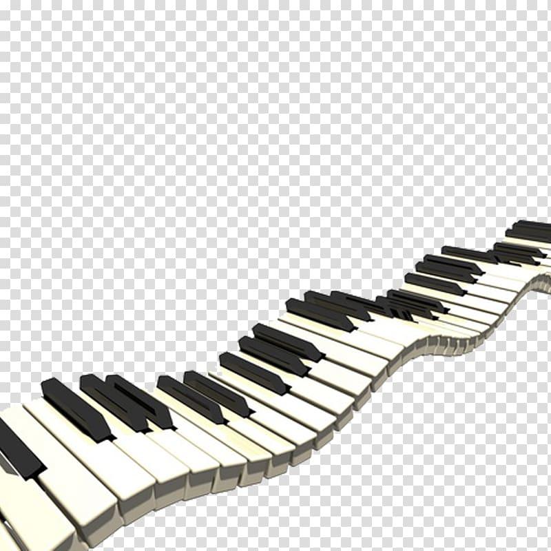 Piano keys , Piano Musical keyboard , piano transparent.