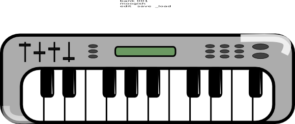 Free Music Keyboard Clipart, Download Free Clip Art, Free.