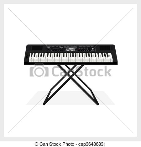 Keyboard Instrument Clipart Clipground