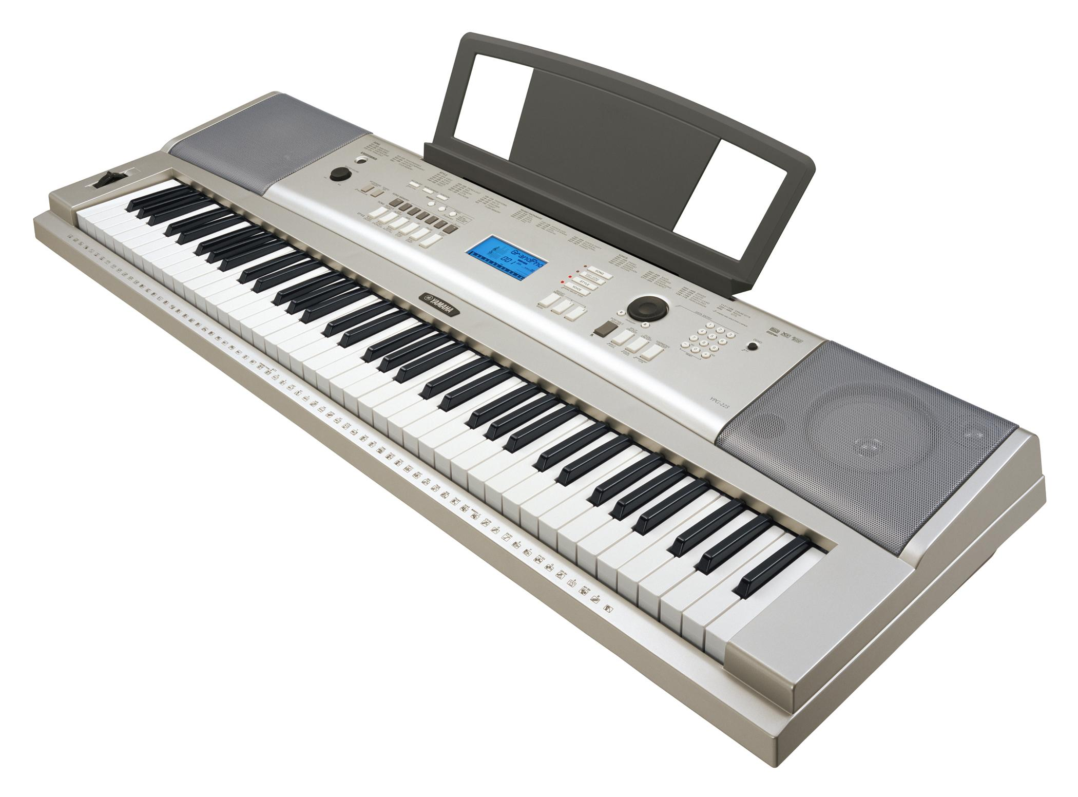 keyboard instrument clipart clipground On yamaha ypg 535 price in india