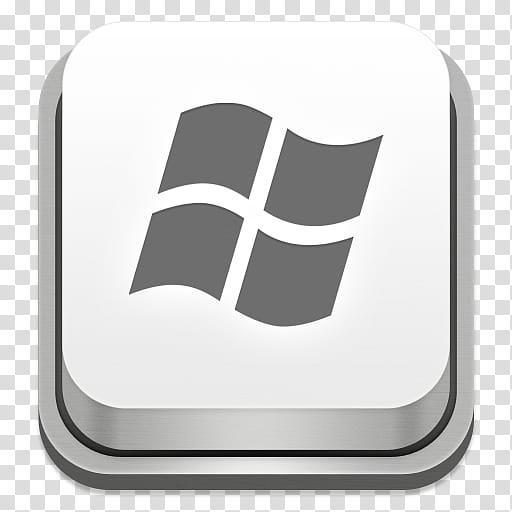 Apple Keyboard Icons, Windows, Windows key transparent.